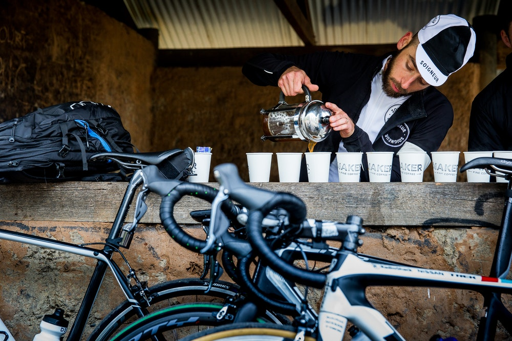 coffee made by soigneur team