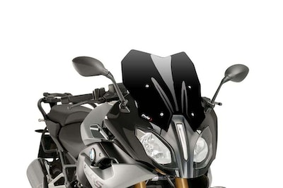 Puig Touring Screen To Suit BMW R1200RS/R1250RS (Black)