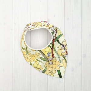 Grubbee May Gibbs Blossom Babies (Yellow) Bib