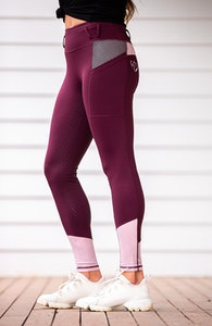Bare Equestrian Performance Tights-Ruby Rose