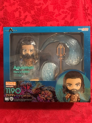 Aquaman: Hero's Edition Nendoroid - DC Comics Aquaman movie - Multi face plates Tridant & Water Effects included