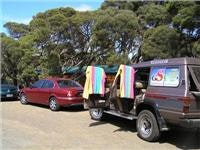 GoSeeAustralia dries out at our cottage camp Anglesea