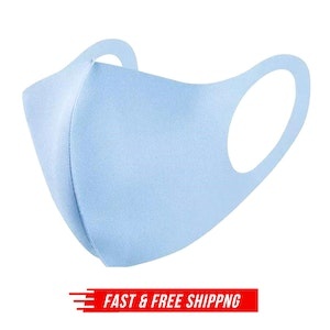 SUMMER Reusable Breathable Face Mask Mouth Mask Anti Dust Haze Protective Lot