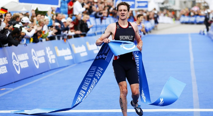 ITU World Triathlon Finish GBR