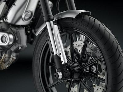 Ducati Scrambler Icon 2015 - Onwards Rizoma Fork Tube Guards