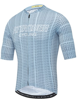 Attaquer All Day Typo Jersey Steel Blue