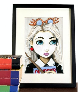 Luna Lovegood - Art Print