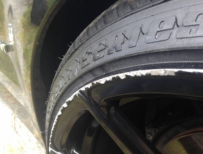 How to Repair Curb Rash On Any Wheel Rim