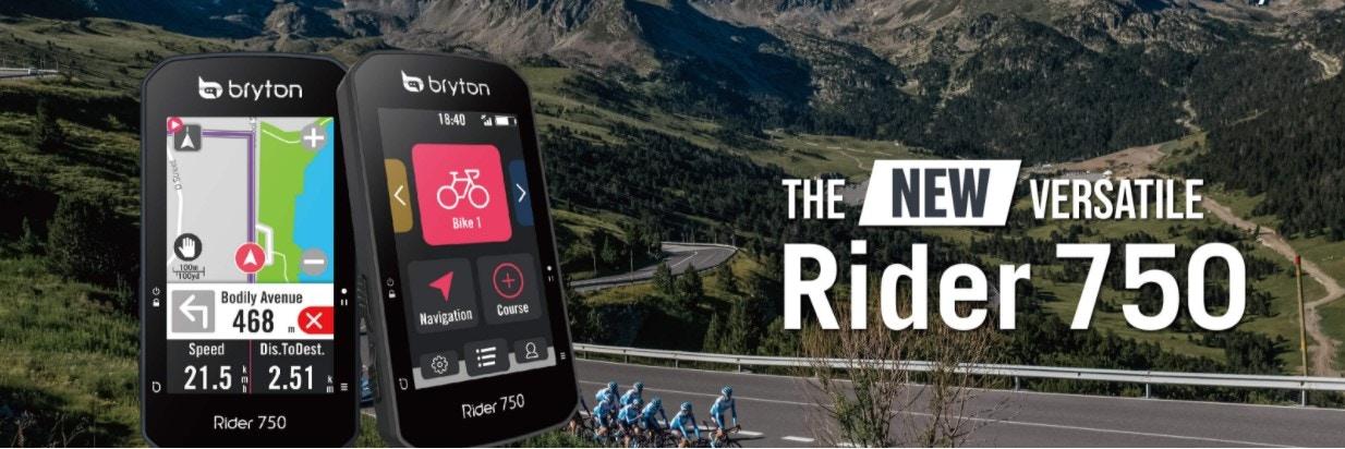 Bryton - Rider 750 The NEW Versatile