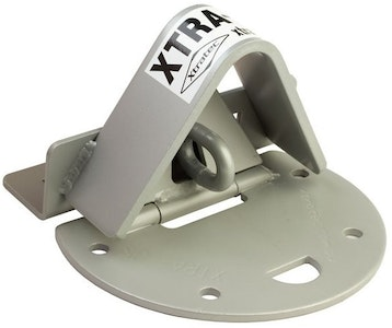 """Xtratec XTRA-LOK 2AEXTSS external garage roller door anchor for """"Stepped Concrete Surfaces"""" in Powdercoated Stainless Steel"""