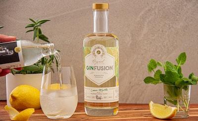 Lemon Myrtle with Elderflower Tonic Ginfusion