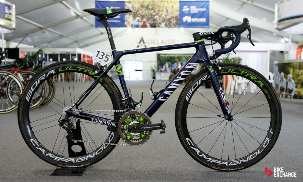 bikes of the 2017 worldtour movistar canyon ultimate