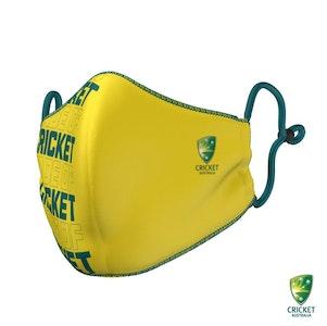 Cricket Australia Face Mask - National Team