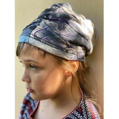 SparksJoi New Season Soft warm lined Children's Nuno Felt Saree Silk Sock Hat