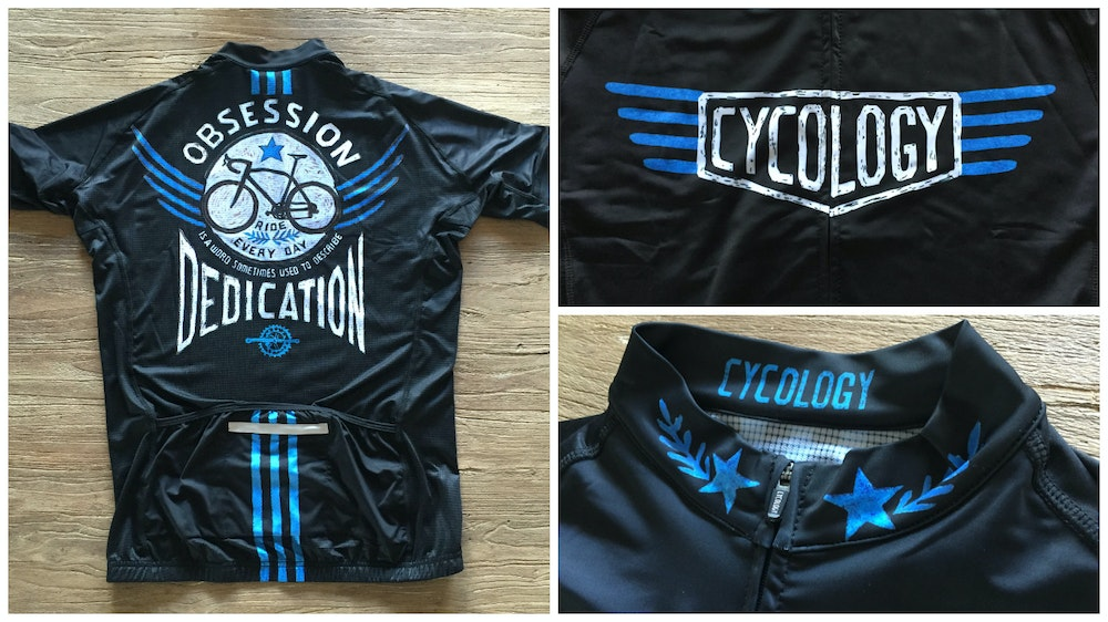 Cycology Bike Obsession Black Men s Jersey 2017 BikeExchange 4