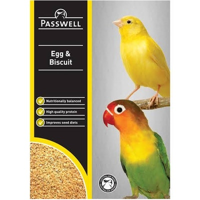PASSWELL Breeding Birds Balanced Nutrition Egg & Biscuit - 5 Sizes