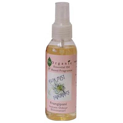 OZZ ORGANICS Ozz Organic Kwik Mist Fragrance Spray Frangipani 125ml