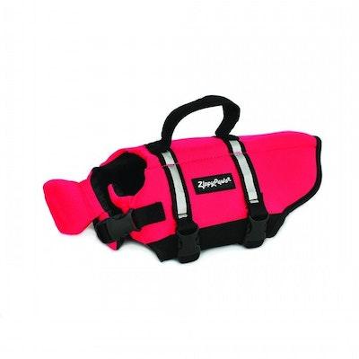 Zippy Paws Doggy Life Jacket Dog Safety Vest Red - 5 Sizes
