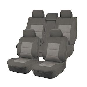 Premium Car Seat Covers For Mitsubishi Pajero Sport Qe Series 2015-2020 4X4 Suv/Wagon 5-Seater | Grey