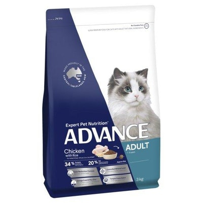 Advance Dry Cat Food Adult Chicken 3kg