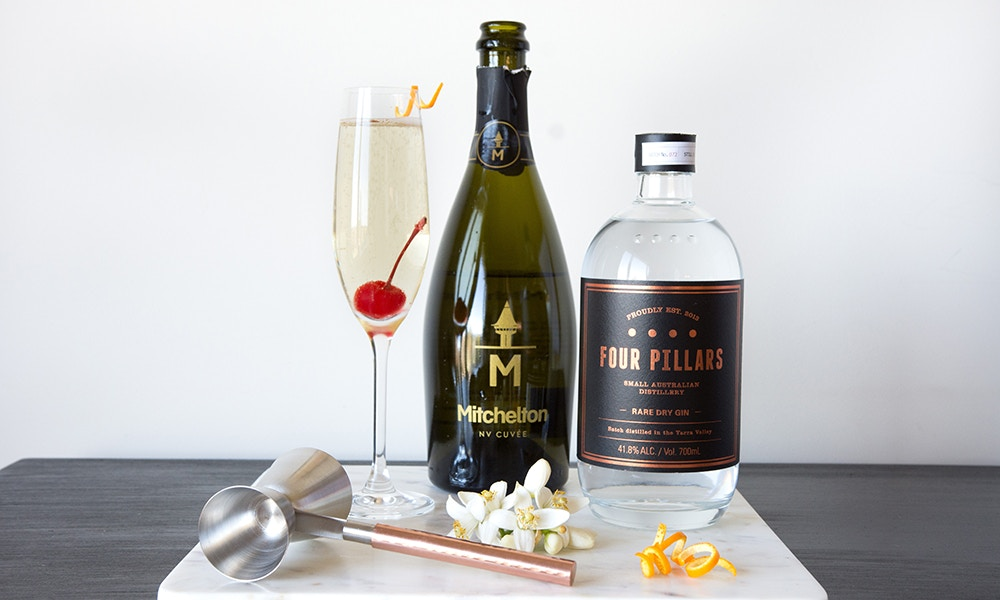 Fun Summer Cocktail - French 75