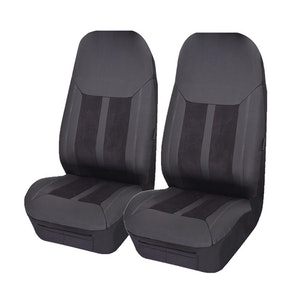 Universal Fury Front Seat Covers Size 60/25 | Black