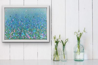 Fiona Adams Artwork Peacefulness - Original painting