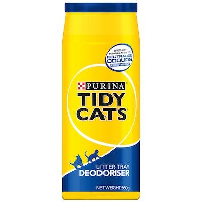 Tidy Cats Litter Tray Deodoriser Cat Litter Odour Neutraliser 560g