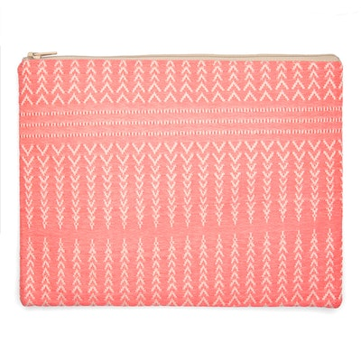 Global Sisters Shop Indie Pouch - Coral