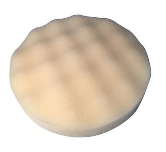 190mm x 28mm Waffle Foam Pad - White