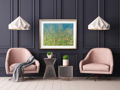 Fiona Adams Artwork I am Loved - Landscape Print