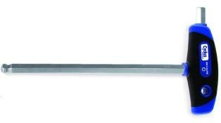 Cyclus Tools Hexagon Ball-End Spanner 5mm, T-Grip, 150 mm Blade