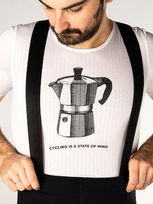 Twenty One Cycling Factory Lightweight base layer - CoffeeMaker - Men