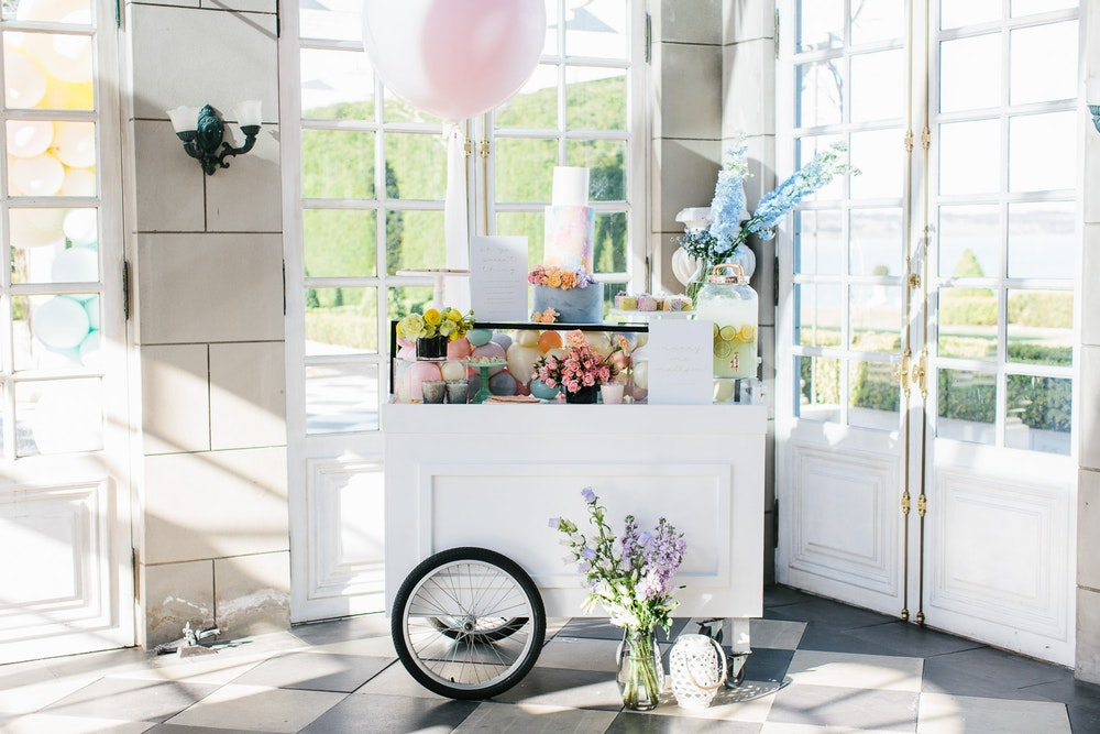 Dann Event Hire Vintage Trolley LENZO Wedding