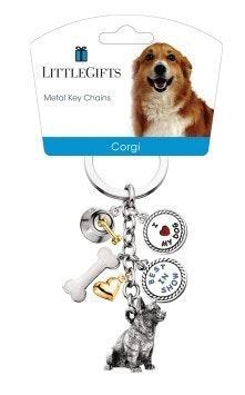 Little Gifts Keyrings - Corgi