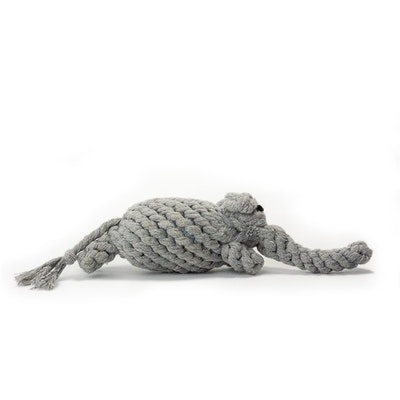 Veggie Paws Trunk the Elephant - Eco Rope Dog Toy