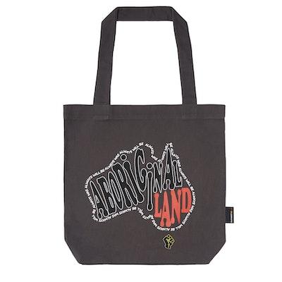 Clothing The Gaps       Aboriginal Land Tote Bag