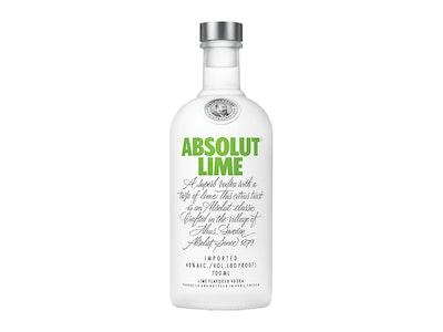 Absolut Lime Vodka 700mL