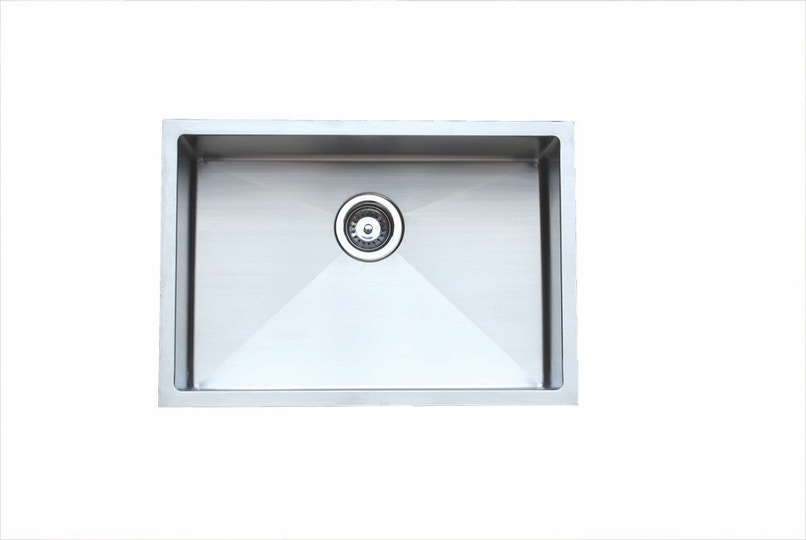 Stainless Steel Sink In Bathroom : Roma Bathroom F6545 Stainless Steel Square Sink Drop In Sinks for ...