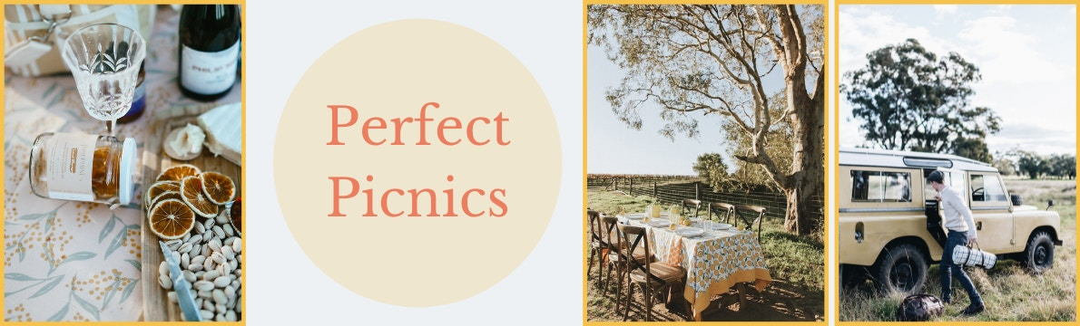 Picnics in the bush including picnic table under tree