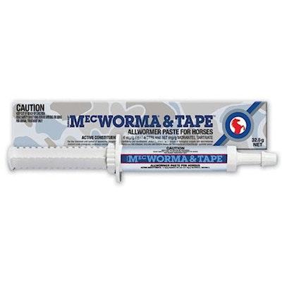 International Animal Health Mecworma & Tape Allwormer Paste 32.5g
