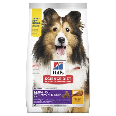 Hills Hill's Science Diet Sensitive Stomach & Skin Adult Dry Dog Food