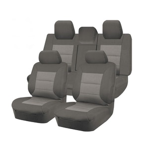 Premium Car Seat Covers For Toyota Camry Asv50R Series 2011-2017 Sedan   Grey