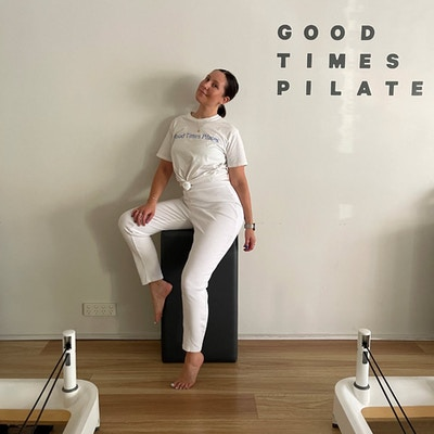 HOW PILATES WAS A CATALYST FOR SELF-EMPOWERMENT FOR CAT WEBB.
