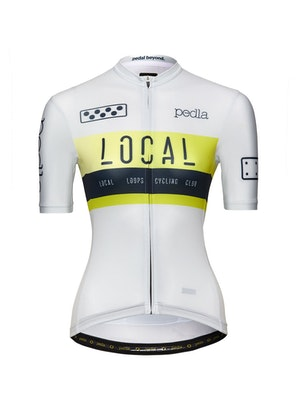 Pedla Team / Women's LunaLUXE Jersey - Off White