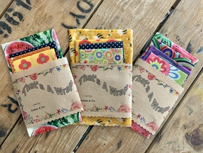 Beeswax wraps - 4 pack
