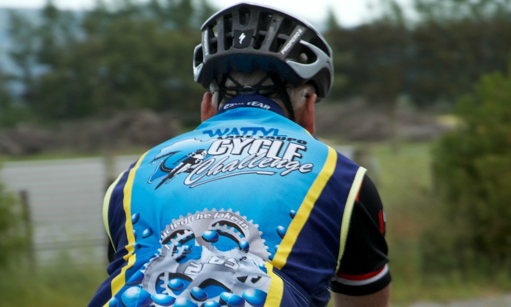 Paddy McDermott Lake Taupo Cycle Challenge