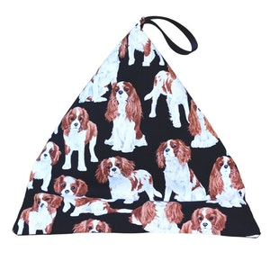 DIRECTLY TO YOU IN AUS  CAVALIER KING CHARLES SPANIELS - Phone, Book, Kindle, Tablet Pillow Stand, Mini Beanbag