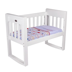 Babyhood Amani Bebe 3pce Cradle Sheet Set Under Construction