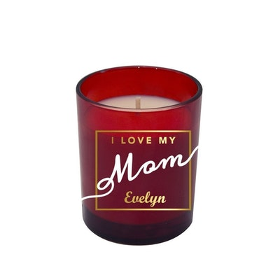 Symbolic Studio Mother's day Red - Hand Poured Soy Candle